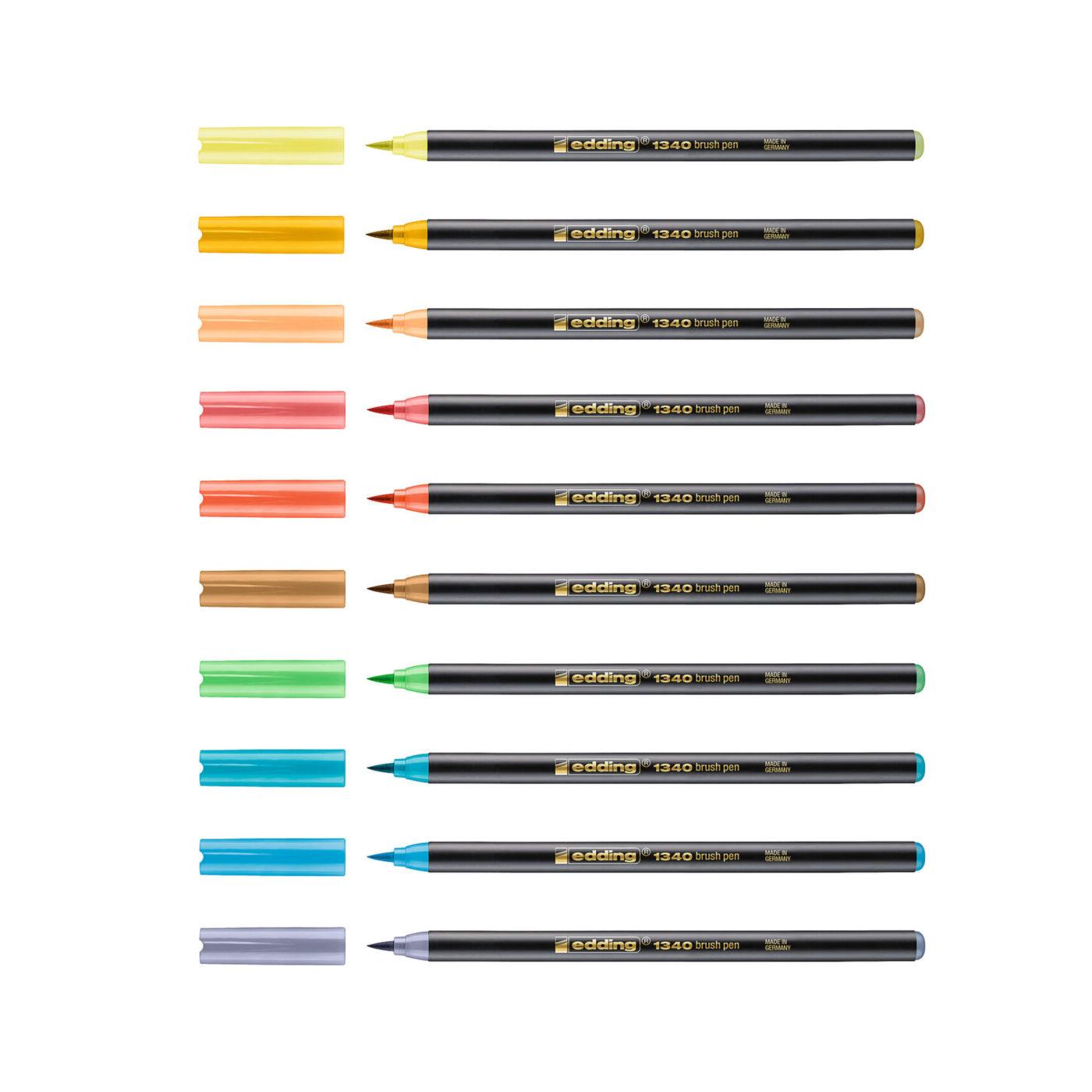 edding 1340 Brush Pen Soft colors