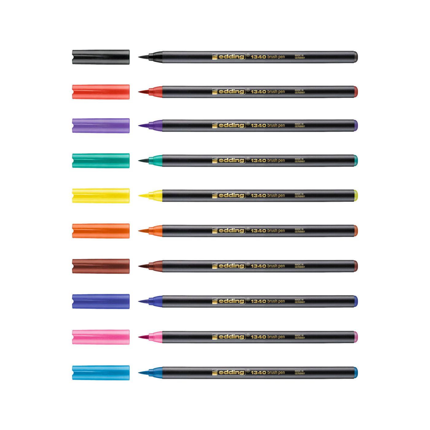 Edding 1340 Brush Pens Standard Farben