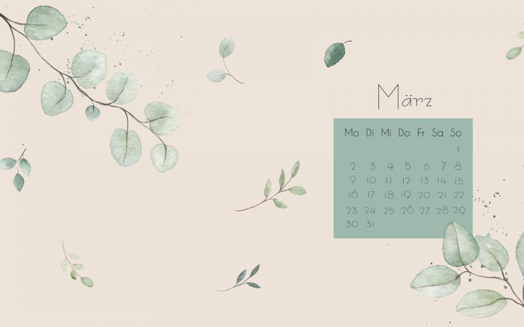 Wallpaper März