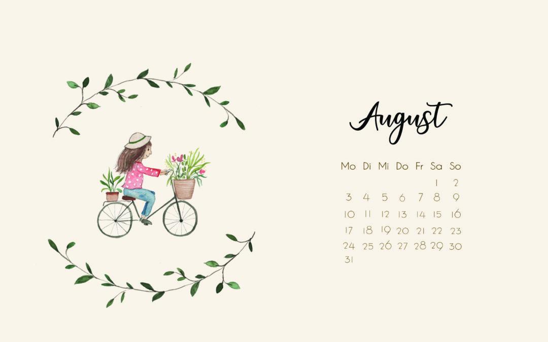 Wallpaper August