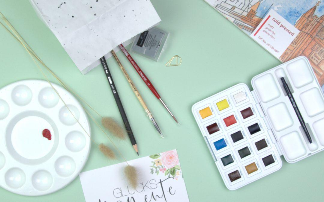 Deine ersten Watercolor-Produkte