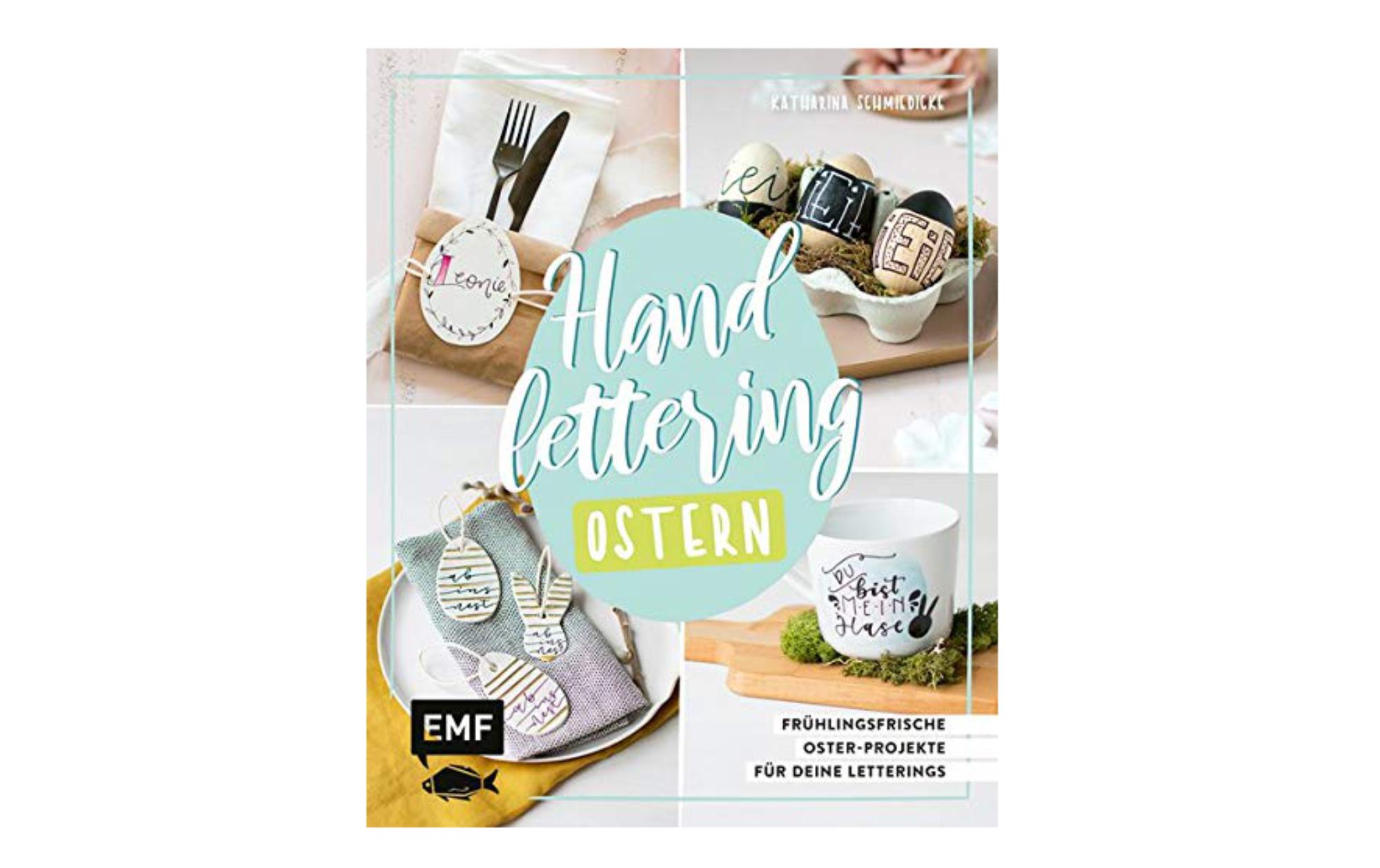 """Mein erstes Buch """"Handlettering Ostern"""""""